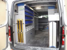 Group Cé bedrijfswageninrichting Volkswagen Crafter
